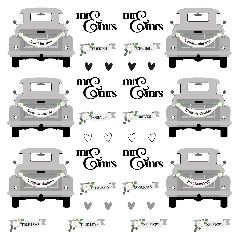 "Love & Cherish Cardstock Die-Cut Sheet 12""X12""-Love & Cherish"