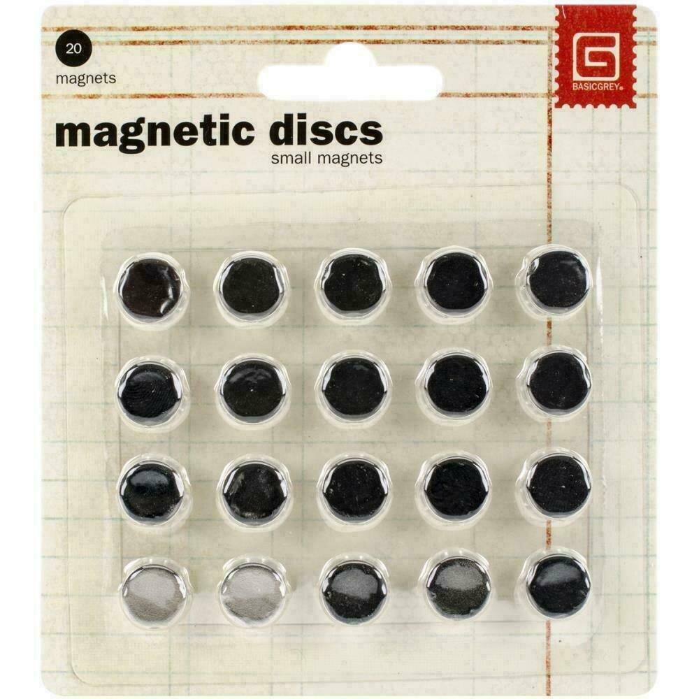 "Magnetic Discs .375"" 20/Pkg1/32"" Thick"