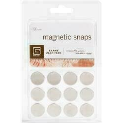 "Magnetic Discs .625"" 12/Pkg1/32"" Thick"