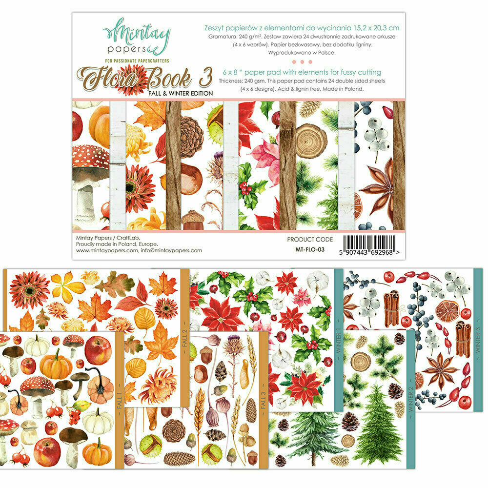 Mintay Papers Flora book #3