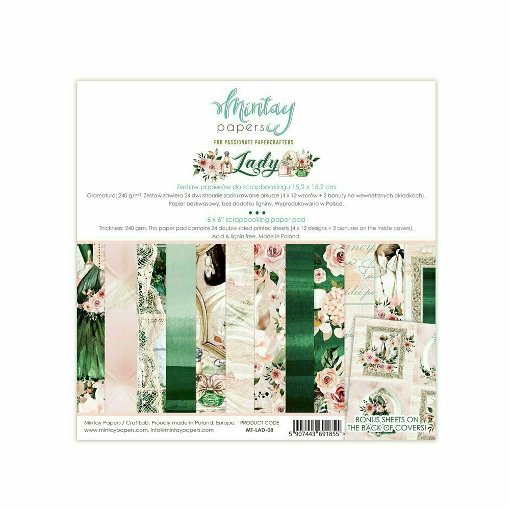 Mintay Papers Lady Paper Pack 12x12