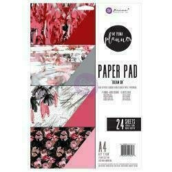 My Prima Planner Double-Sided A4 Paper Pad 24/PkgDream On 4 Designs/6 Each