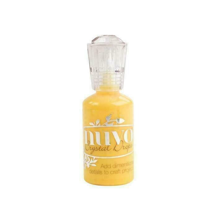 Nuvo - Crystal Drops - Gloss - Dandelion Yellow - 673n