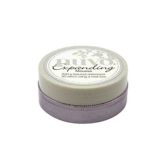 Nuvo - Expanding Mousse - Misted Mauve - 1707N