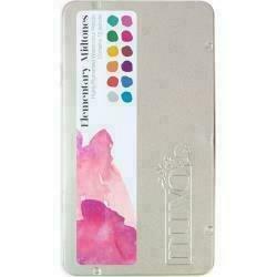 Nuvo Watercolor Pencils 12/PkgElementary Midtones