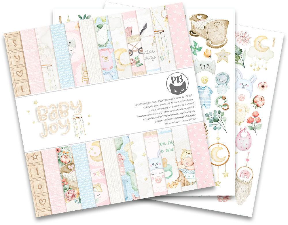 P13 12X12 Paper Pad Baby Joy