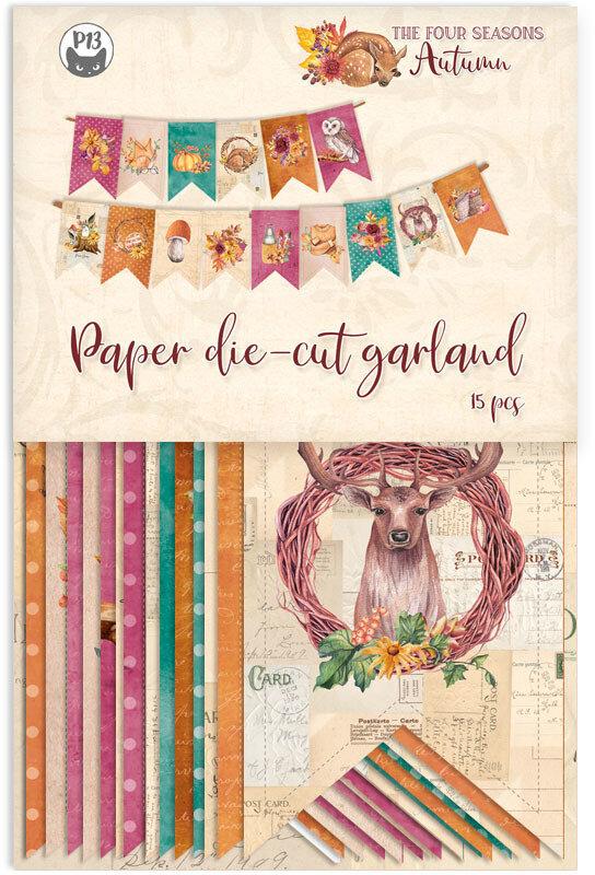 P13Die Cuts The Four Seasons - Autumn (Garland)