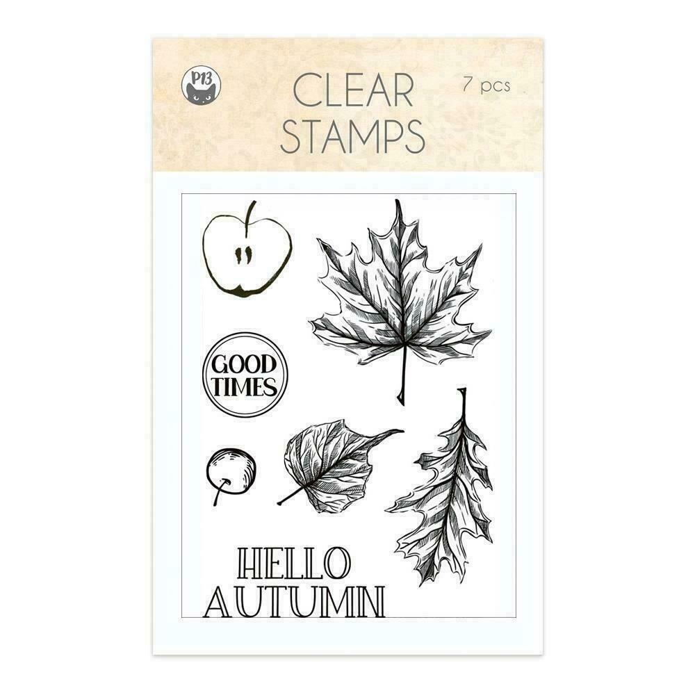 P13 Photopolymer Stamps 7/Pkg The Four Seasons-Autumn