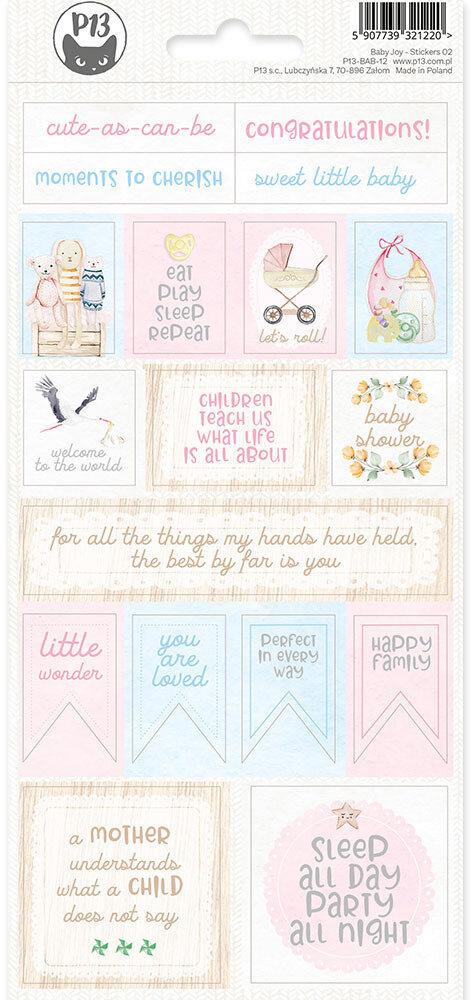 P13 Sticker Sheet Baby Joy 02
