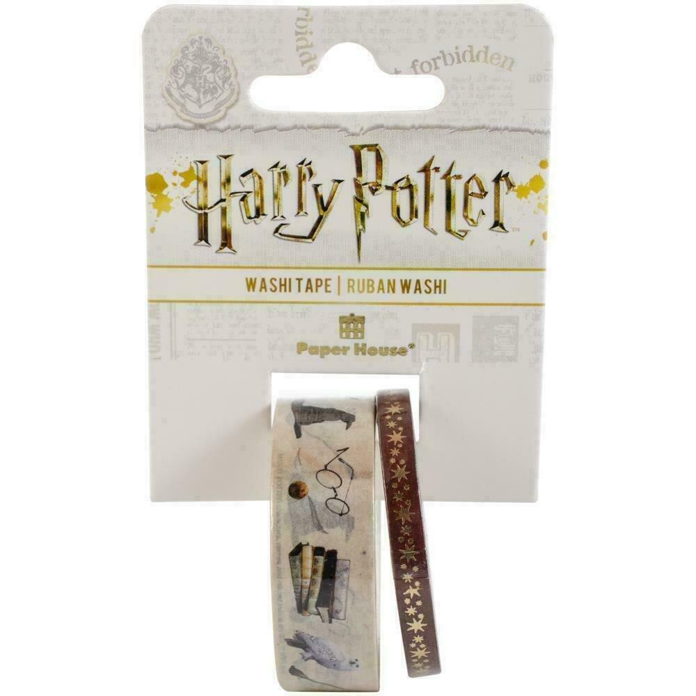 Paper House Washi Tape 2/PkgHarry Potter - Icons