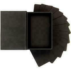 "Prima Marketing Altered ATC Card Set - Black - 2.25""X3.5"""