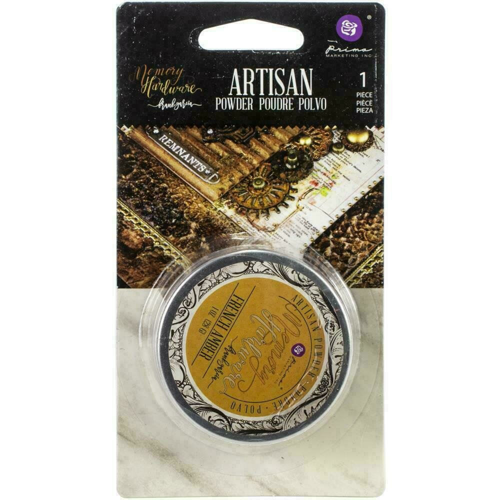 Prima Marketing Memory Hardware Artisan Powder 1oz - French Amber