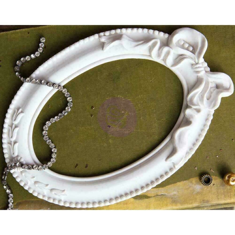 Prima Marketing Memory Hardware Resin Frames - Papillion Blanc Oval