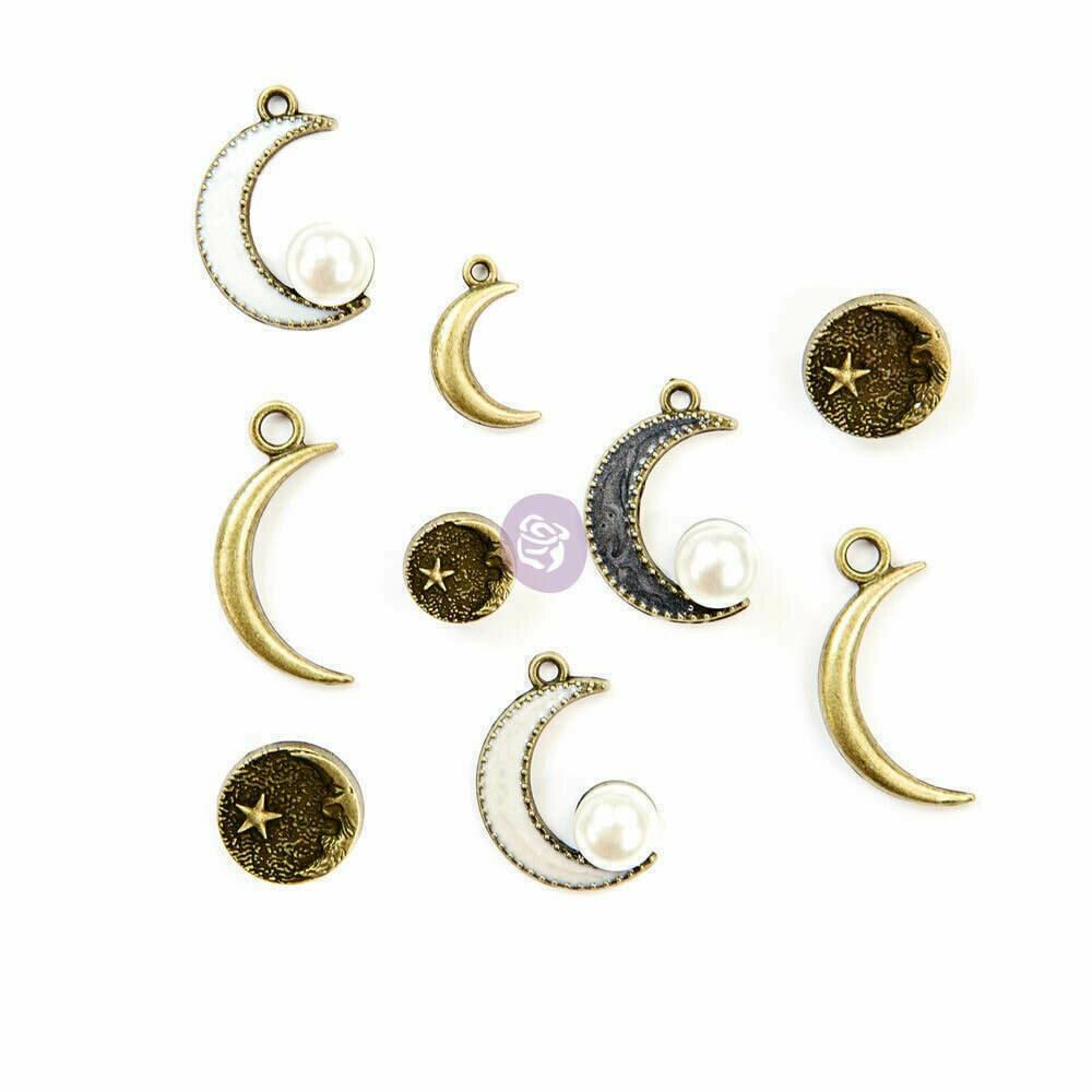 Prima Marketing Moon Child Metal Trinkets