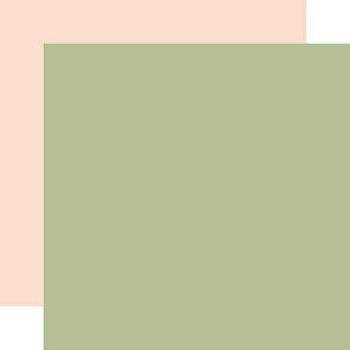 Salutations No.1 DESIGNER SOLIDS - GREEN/LIGHT PINK