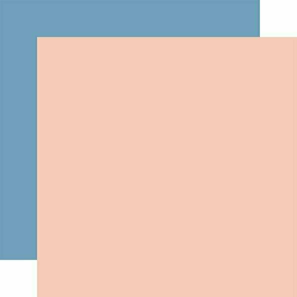 Salutations No.1 DESIGNER SOLIDS - PINK/DARK BLUE