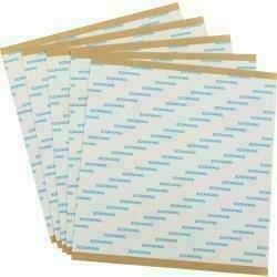 """Scor-Tape Sheets 5/Pkg6""""X6"""""""