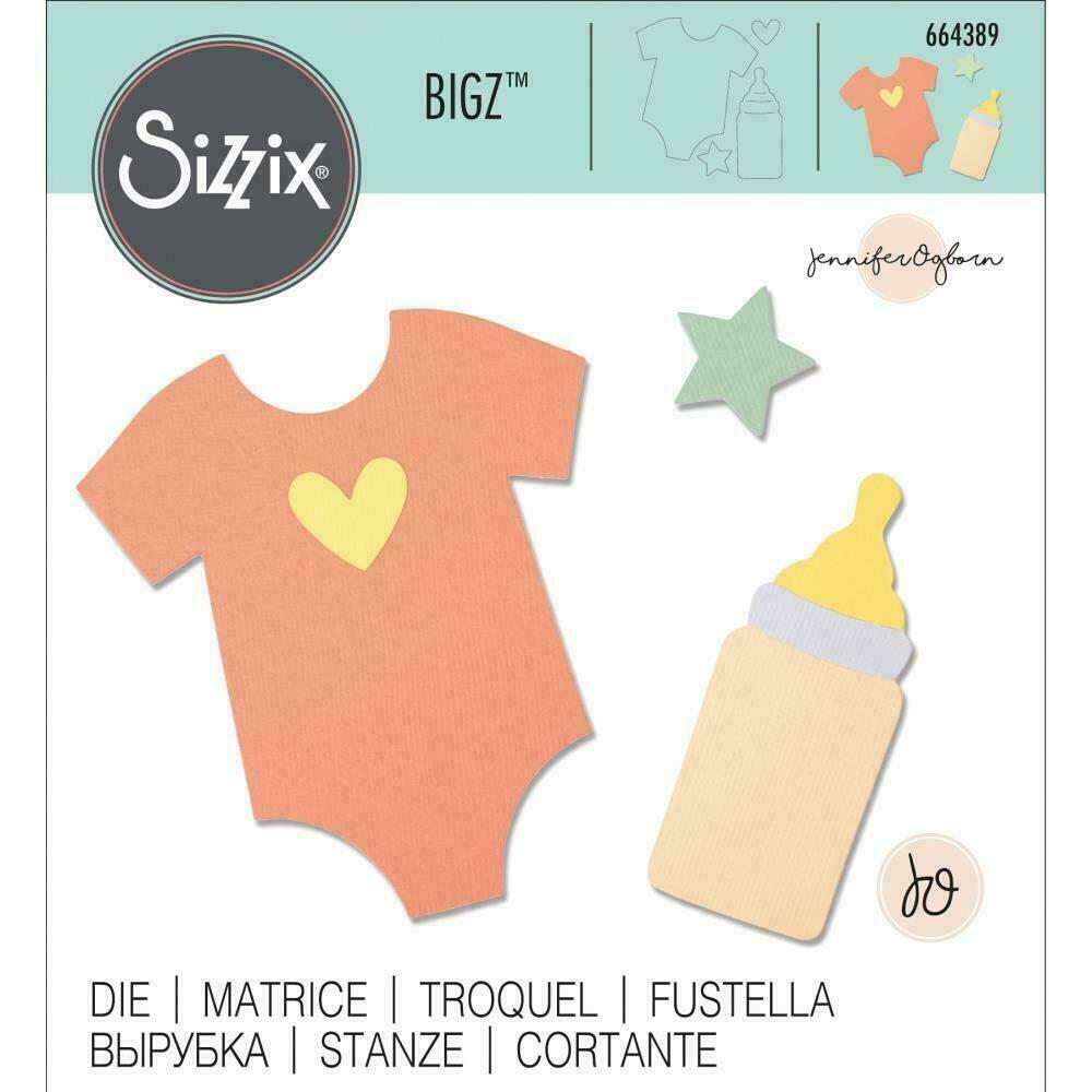 Sizzix Bigz Die By Jennifer Ogborn  Nursery