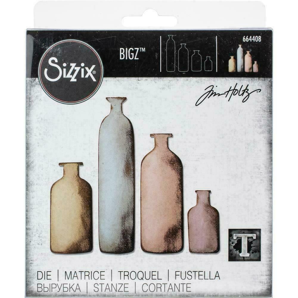 Sizzix Bigz Die By Tim Holtz Bottled Up