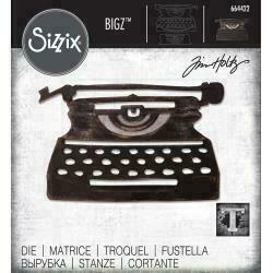 Sizzix Bigz Die By Tim Holtz Retro Type