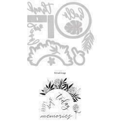 Sizzix Framelits Die & Stamp Set By Sophie Guilar 13/Pkg Detailed Tropics
