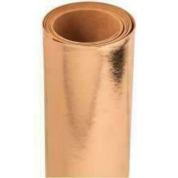 "Sizzix Surfacez Texture Roll 12""X48"" Rose Gold"