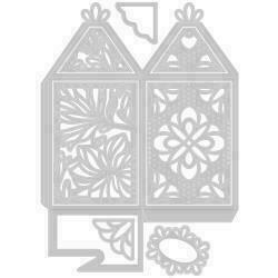 Sizzix Thinlits Dies 8/Pkg Elegant Favor Box