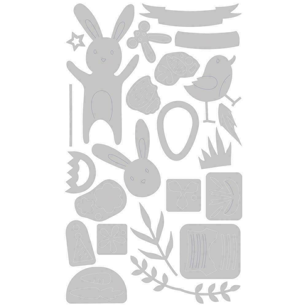 Sizzix Thinlits Dies By Lisa Jones 23/Pkg Easter Celebration
