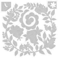 Sizzix Thinlits Dies By Olivia Rose 6/Pkg Wedding Wreath