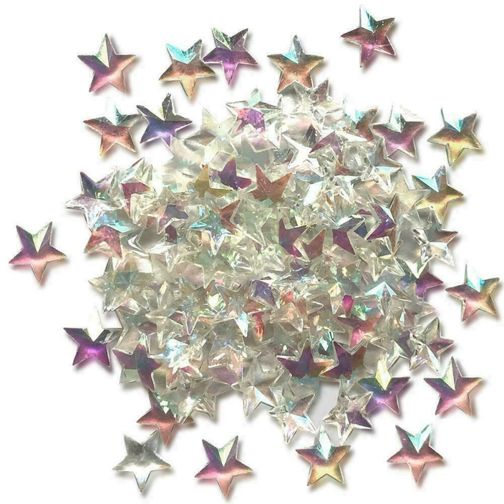Sparkletz Embellishment Pack 10g  Crystal Stars