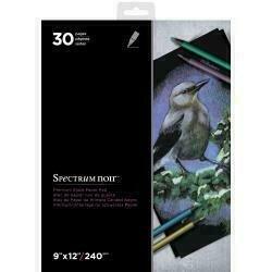 """Spectrum Noir Premium Black Pad 9""""X12"""""""