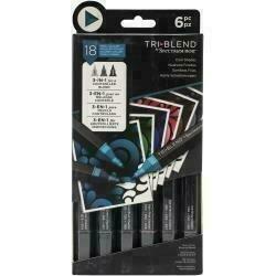 Spectrum Noir Triblend Markers 6/Pkg Cool Shades