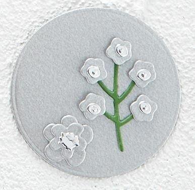 """Spellbinders Color Essentials Cardstock 8.5""""X11"""" 10/Pkg-Brushed Silver"""