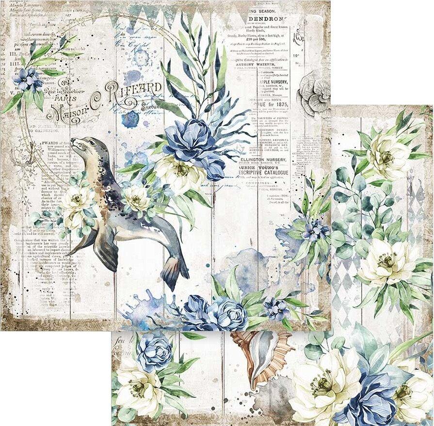 "Stamperia Double-Sided Paper Pad 12""X12"" 10/Pkg-Romantic Sea Dream 10 Designs/1..."