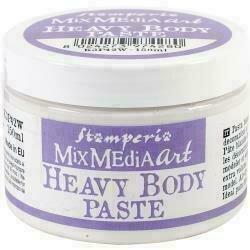 Stamperia Heavy Body Paste 150ml White