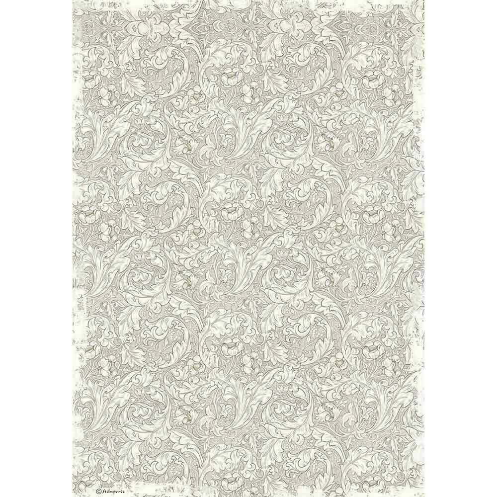 Stamperia Rice Paper Sheet A3 Wallpaper Winter Tales