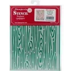 "Stamperia Stencil D 7.87""X5.91"" Wood Effect"
