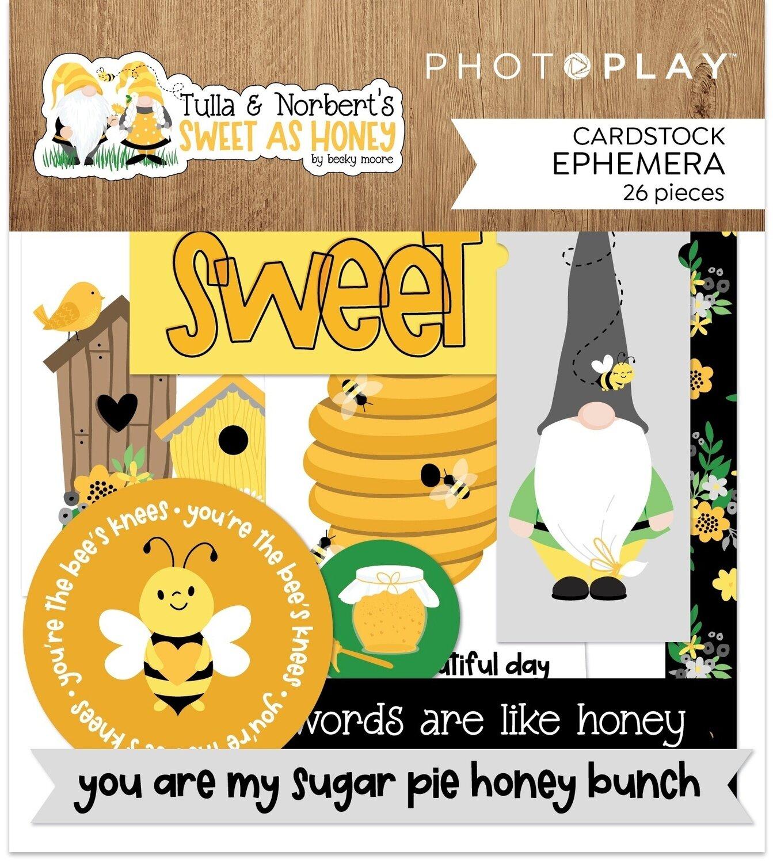 Sweet As Honey Ephemera Cardstock Die-Cuts