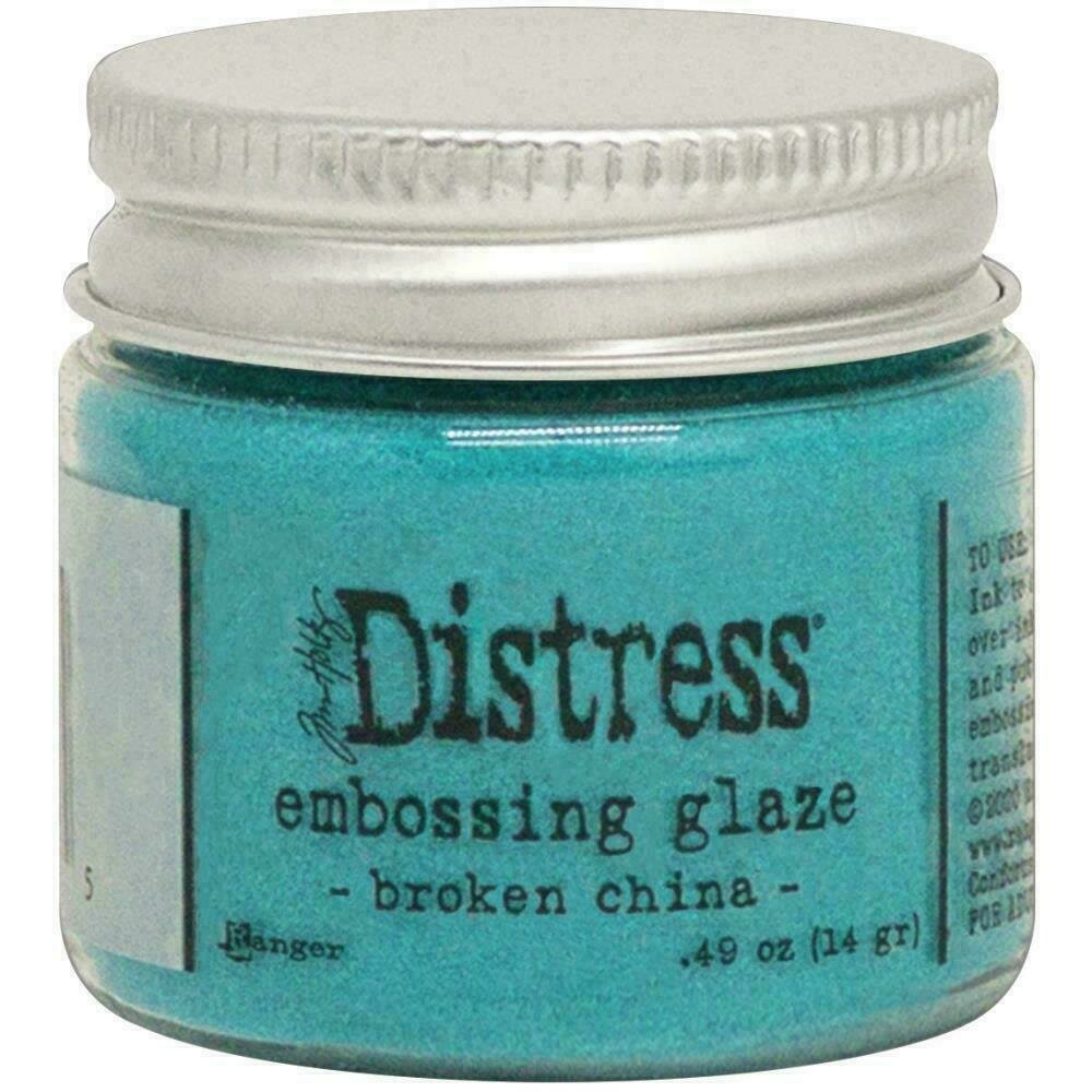 Tim Holtz Distress Embossing Glaze Broken China