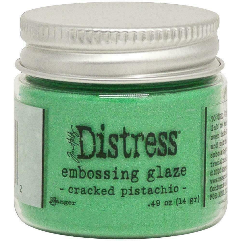 Tim Holtz Distress Embossing Glaze Cracked Pistachio