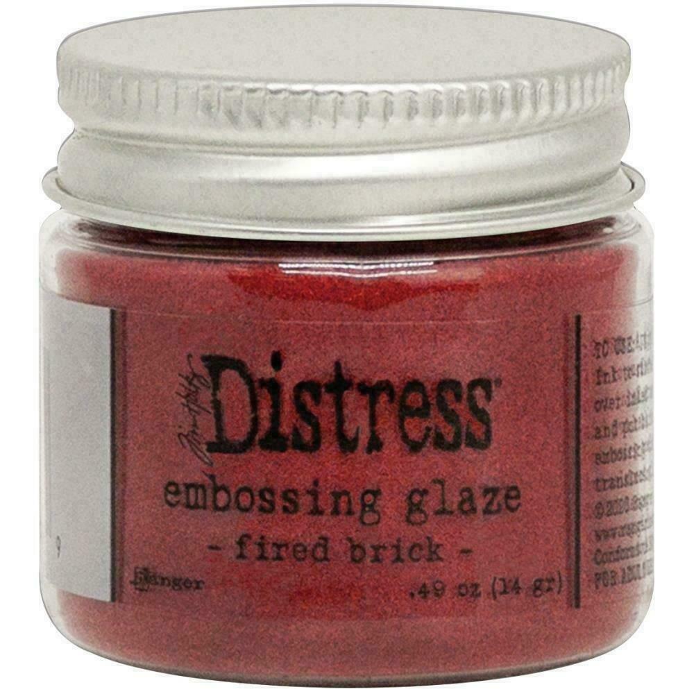 Tim Holtz Distress Embossing GlazeFired Brick
