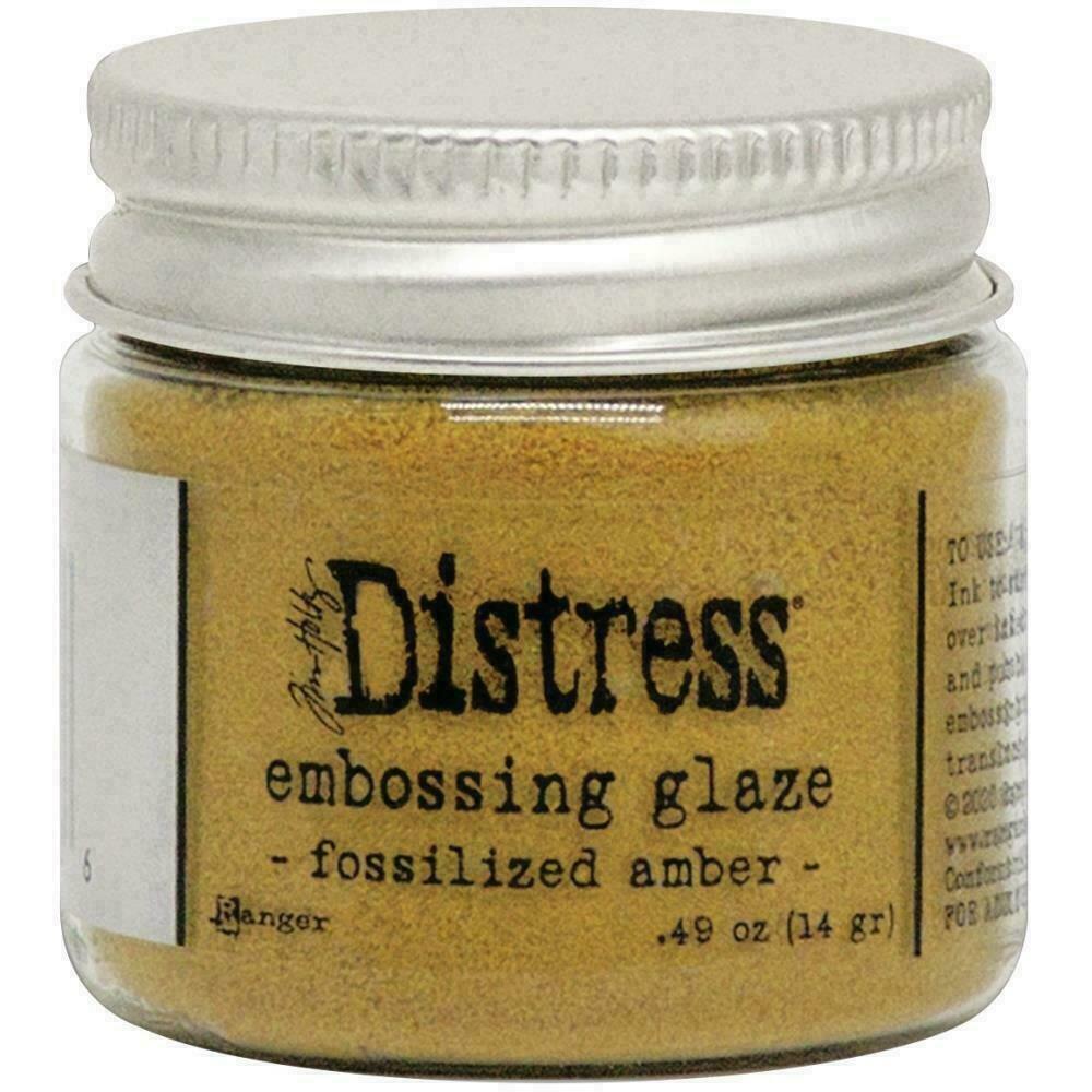 Tim Holtz Distress Embossing Glaze Fossilized Amber