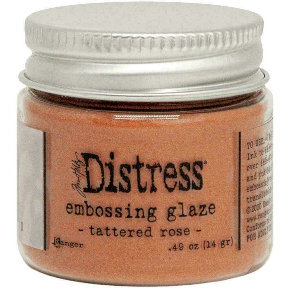 Tim Holtz Distress Embossing Glaze Tattered Rose