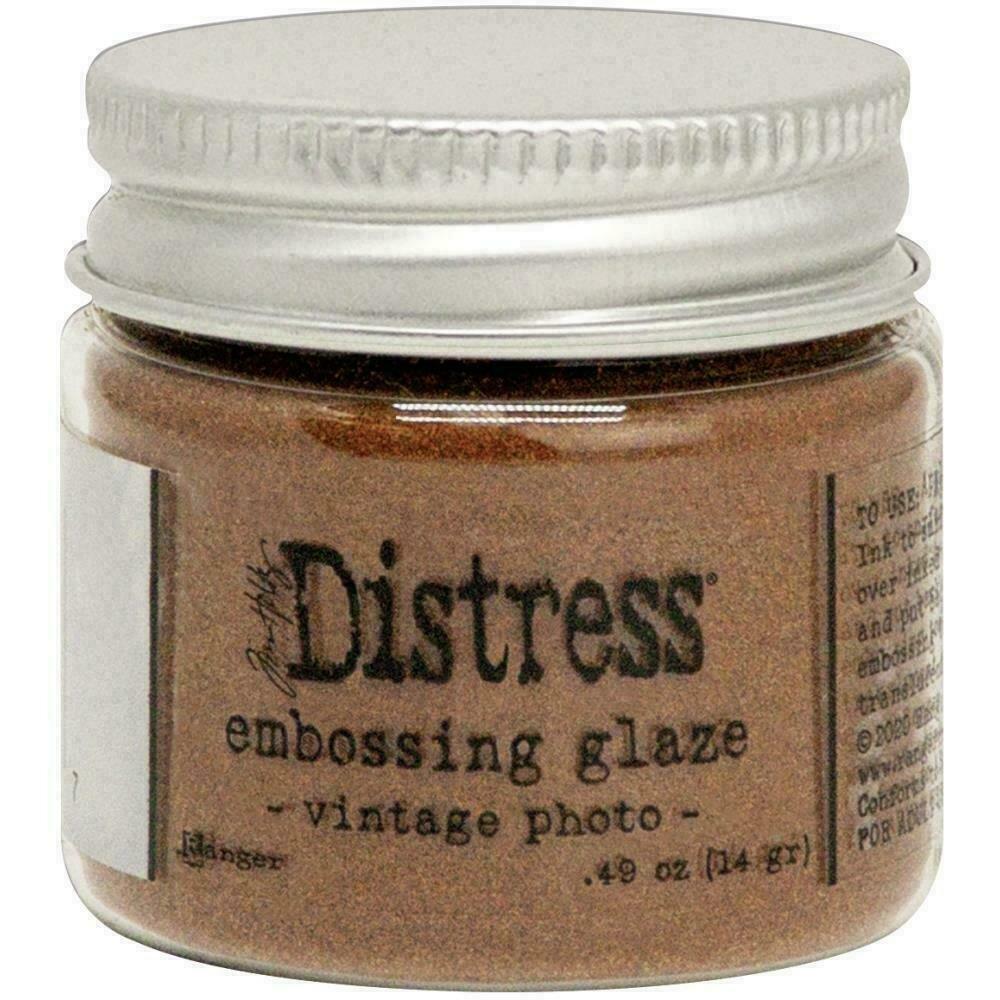Tim Holtz Distress Embossing Glaze Vintage Photo