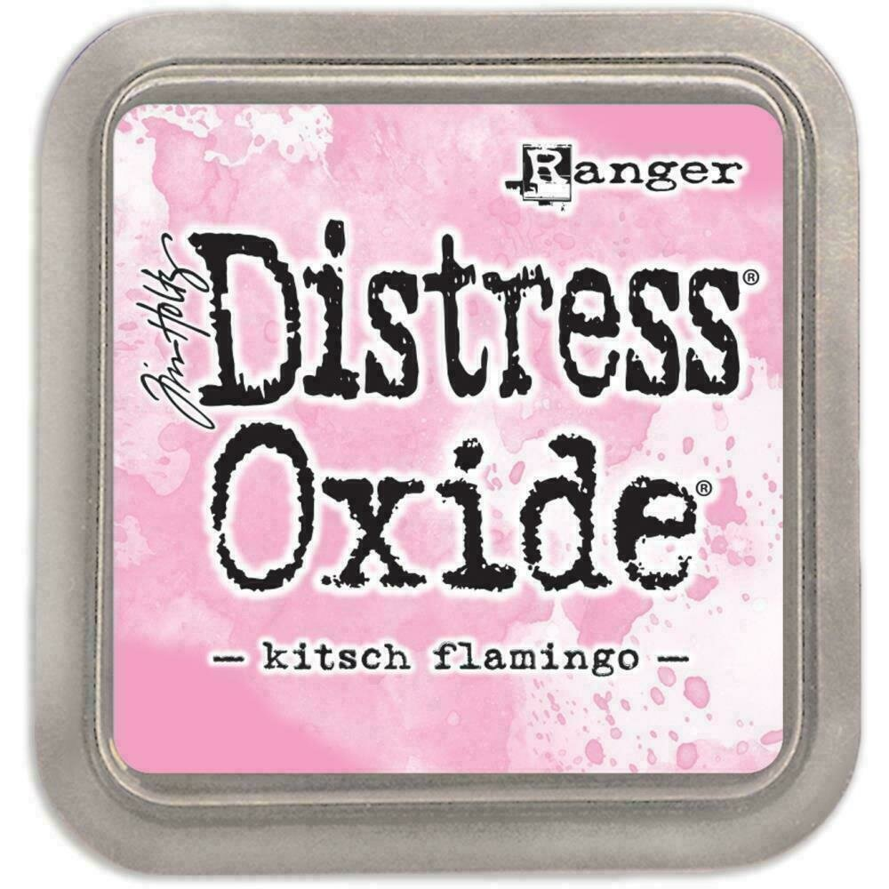 Tim Holtz Distress Oxide Pad Kitsch Flamingo