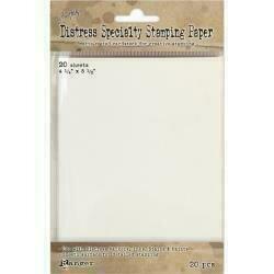 "Tim Holtz Distress Specialty Stamping Paper 20/Pkg 4.25""X5.5"""