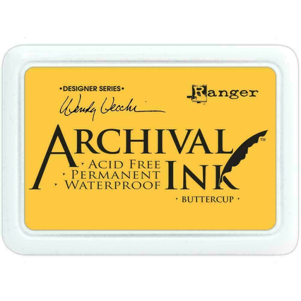 Wendy Vecchi Archival Ink Pad Buttercup