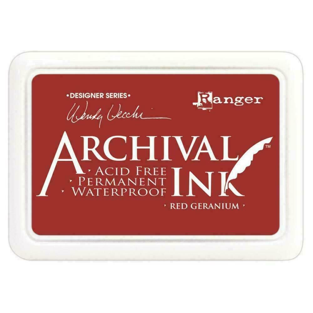 Wendy Vecchi Archival Ink Pad Red Geranium