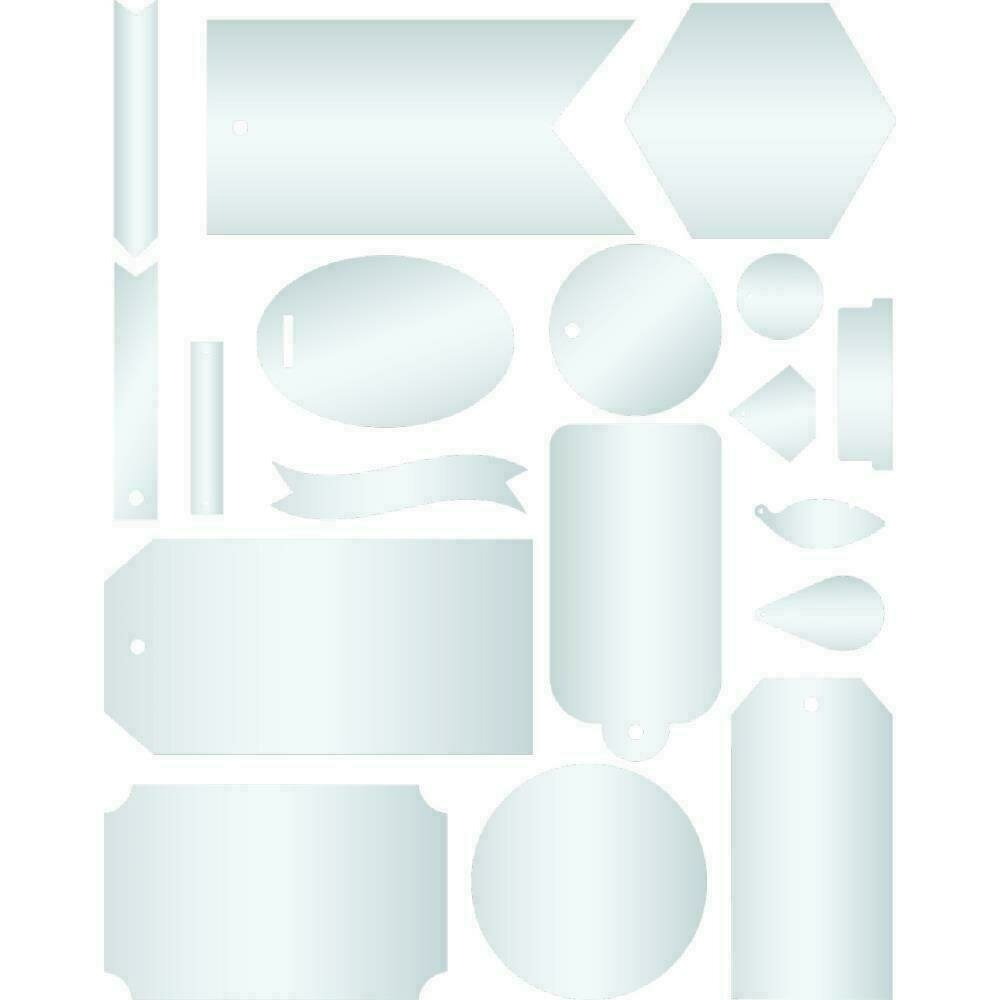 We R Memory Keepers Etch Quill Plastic Ephemera 18/Pkg
