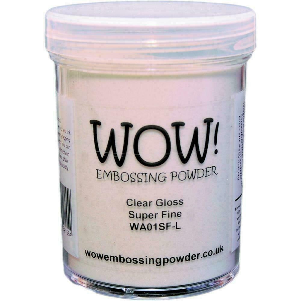 WOW! Embossing Powder Super Fine 15mlClear Gloss